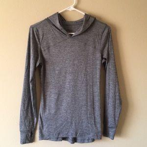 Old Navy Active Long Sleeved Gray Shirt